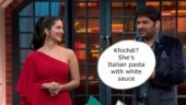 Dear Kapil Sharma, calling Sunny Leone Italian pasta with white sauce is not cool