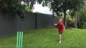 So cute! Jasprit Bumrah bowled over by Aussie kid imitating his action
