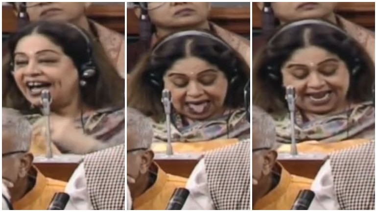 Kirron Kher in Parliament