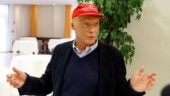 Niki Lauda is in hospital in Vienna with the flu (Reuters Photo)