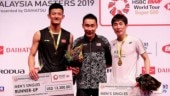 Chen Long, Son Wan Ho honour Lee Chong Wei with podium picture at Malaysia Masters