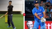 Watch: Glenn Maxwell imitates MS Dhoni's helicopter shot, Kevin Pietersen's switch-hit