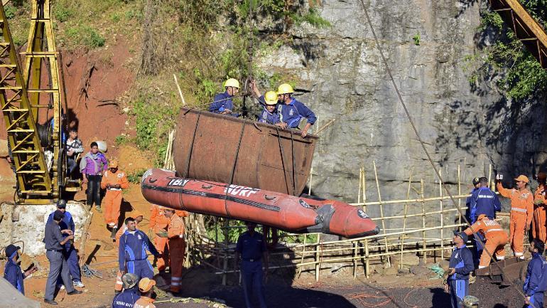 meghalaya miners rescue