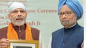 Manmohan by side, PM flays Congress over the 1947 mistakes