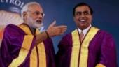 Narendra Modi, Mukesh Ambani