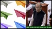 Rafale flying in the house: Paper planes thrown inside Lok Sabha. Internet has best jokes