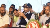 How's the josh? asks ailing Parrikar at his first public event in months