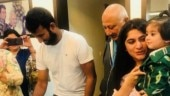 Cheteshwar Pujara's family welcomes him with a cake after record-breaking Australia tour