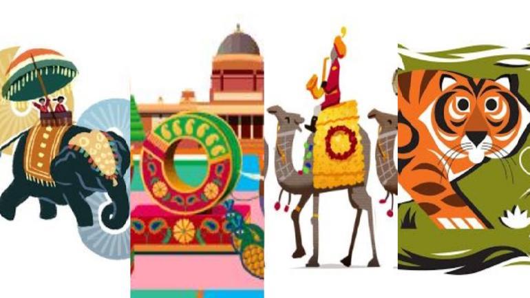 9 Years Of Republic Day Google Doodles Celebrating India Education