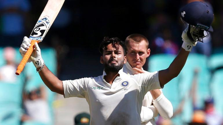 Rishabh Pant scored his second Test hundred in the ongoing match against Australia in Sydney (AP Photo)