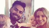 Fans love 'babysitter' Pant's photo with Tim Paine's kids: Best thing I have seen all year