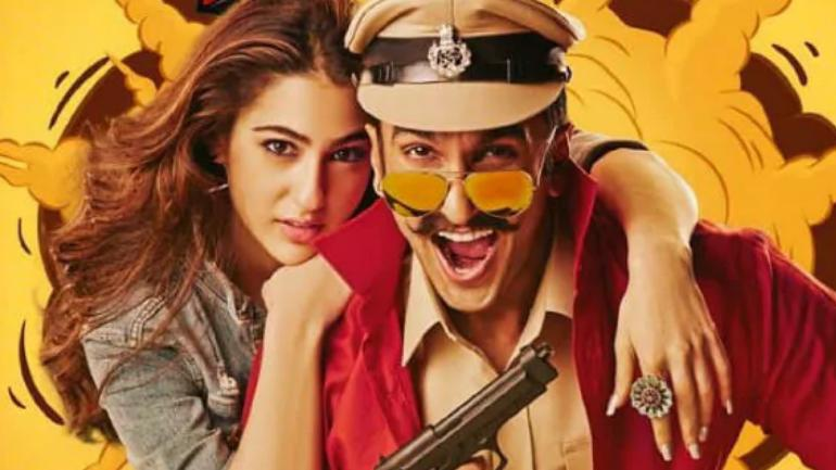 Ranveer Singh checks out the audience reaction to Simmba