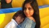 Suhana Khan's phone wallpaper features AbRam and it is super adorable. See pic