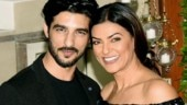 Watch: Sushmita Sen and Rohman Shawl arrive hand-in-hand at SS Rajamouli's son's wedding
