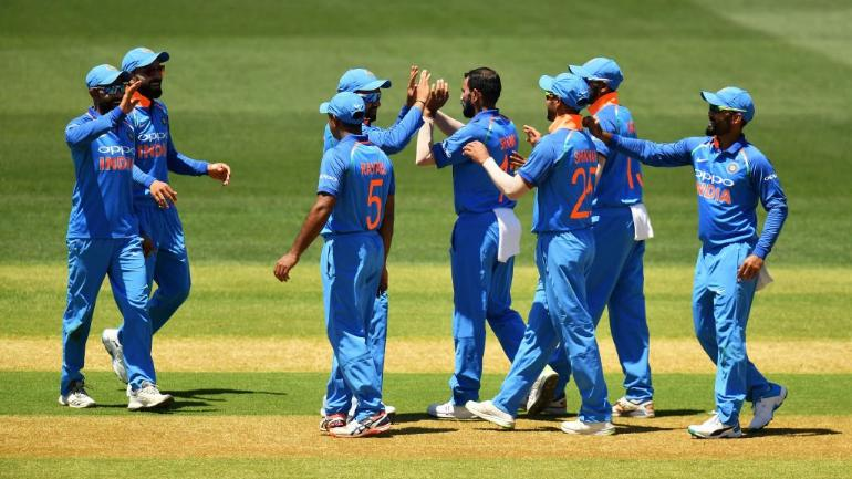 India And New Zealand Play The First Odi In Napier On Wednesday Bcci Photo