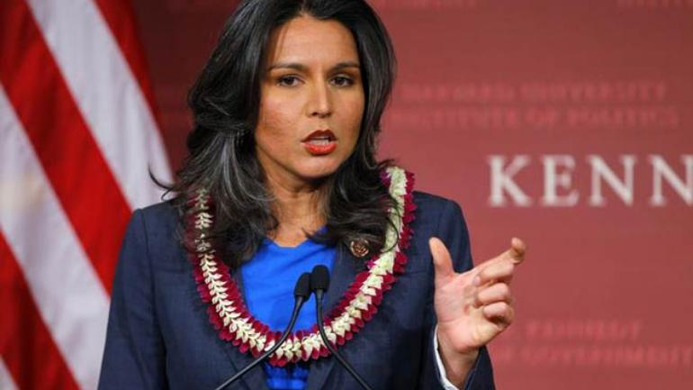Tulsi Gabbard made headlines in 2016 by quitting a leadership post at the Democratic National Committee over the party's decision to limit the number of debates between Clinton and Sanders.
