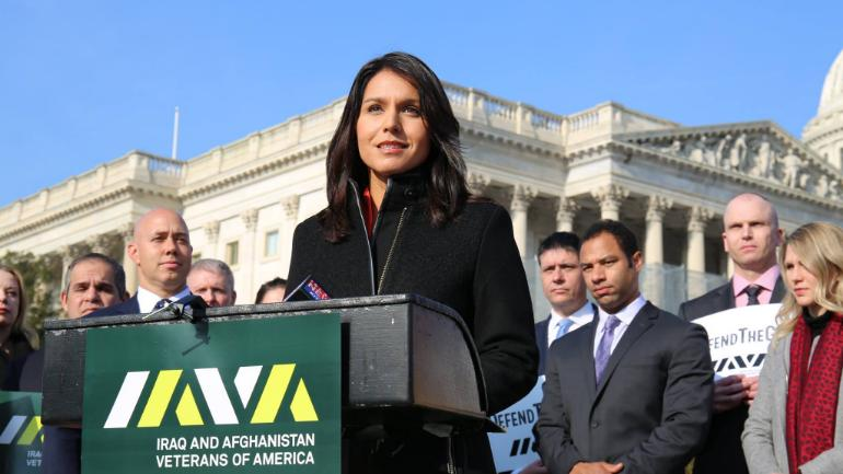 US congresswoman Gabbard, who met Syria's Assad, says will run for president