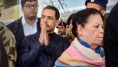 Priyanka Gandhi joins Robert Vadra in Jaipur for his questioning in land scam case