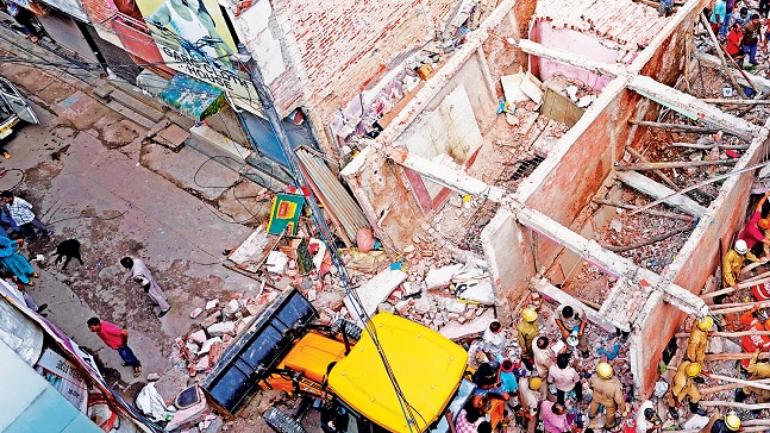 Seven people were killed when a fourstorey building collapsed in Ullawas village, Gurugram, on January 24. (Picture for representation)