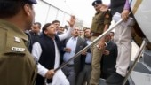 Akhilesh Yadav blocked at Lucknow airport, blames BJP government