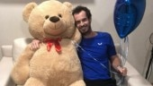 Stan Wawrinka's 'get well soon' bear to Andy Murray might leave his kids fighting