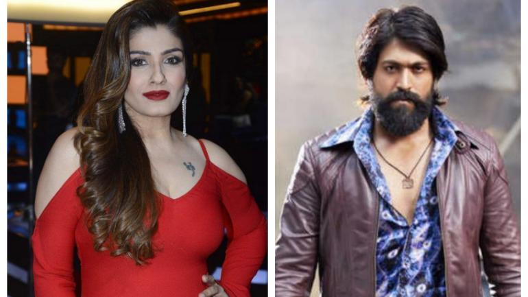 Kgf Chapter 2 Raveena Tandon In Talks With Yash Film Movies News