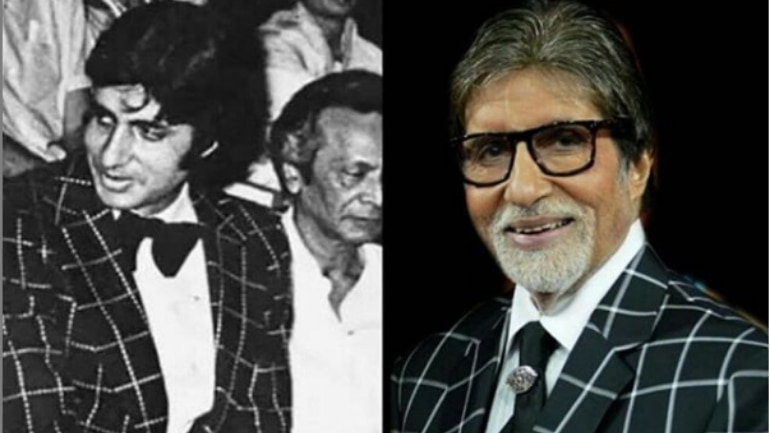 Amitabh Bachchan repeating a Jacket that he wore many years ago Photo: Instagram / Amitabh Bachchan
