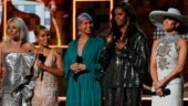 Michelle Obama's surprise entry at 2019 Grammys breaks the internet