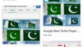 Twitter thinks Google shows Pakistan flag when asked about best toilet paper, Google says no