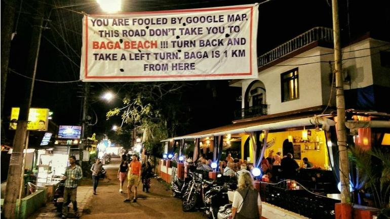 Goa roads vs Google Maps: Mighty Maps called out for