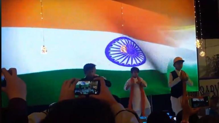 8ad5fb377b8 Pak school plays Indian song