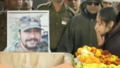 Wife of Pulwama martyr says I love you for the last time. Watch heartbreaking video