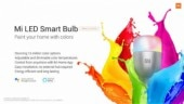 Xiaomi announces Mi LED Smart Bulb, in India it may cost around Rs 700