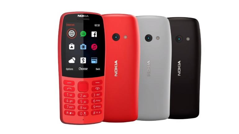 Nokia 210 feature phone launched as most affordable internet device