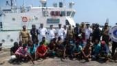 Indian Coast Guard apprehends 25 Sri Lankan fishermen