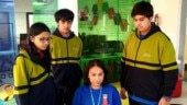 Class 10 students of Gurugram school develop cheap, portable AI device to correct bad postures