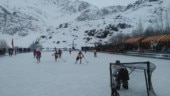 Indian Army organises ice hockey tournament in Ladakh's Drass at minus 22 degrees Celcius