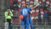 Afghanistan post highest ever T20 total after Hazratullah Zazai's 162
