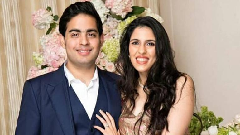Akash Ambani and Shloka Mehta kickstart wedding celebration Photo: Instagram/ shloka_akash_ambani