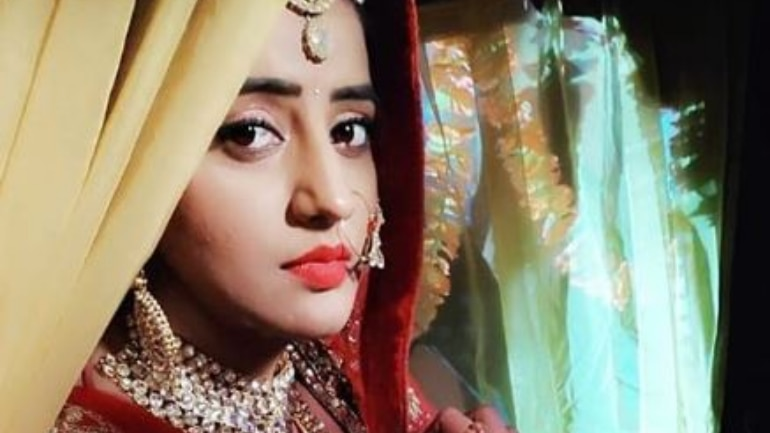 Bhojpuri actress Akshara Singh's dance performance was cut short in Aurangadbad, Bihar