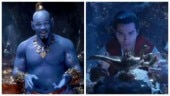 Aladdin first look out: Will Smith turns Genie. Internet blasts actor