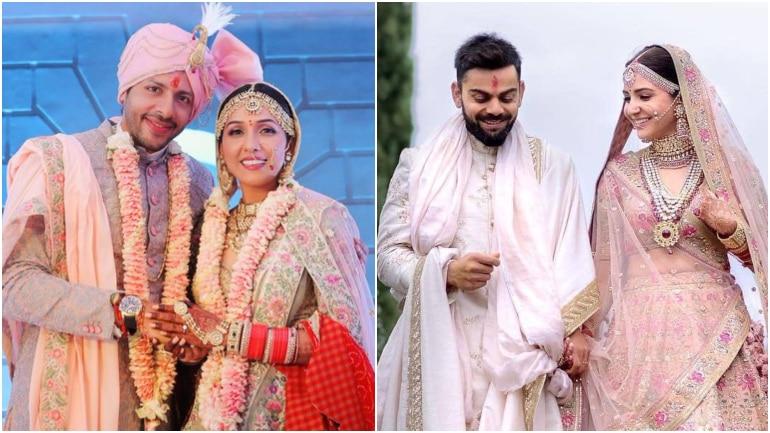 Neeti Mohan wore a lehenga which looked exactly like the one Anushka Sharma wore on her wedding day