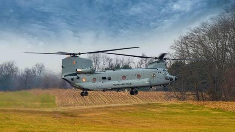 4 Chinook helicopters arrive in India from US, to be deployed in Chandigarh