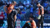 Big Bash League: Nathan Coulter-Nile taken to hospital after onfield collapse