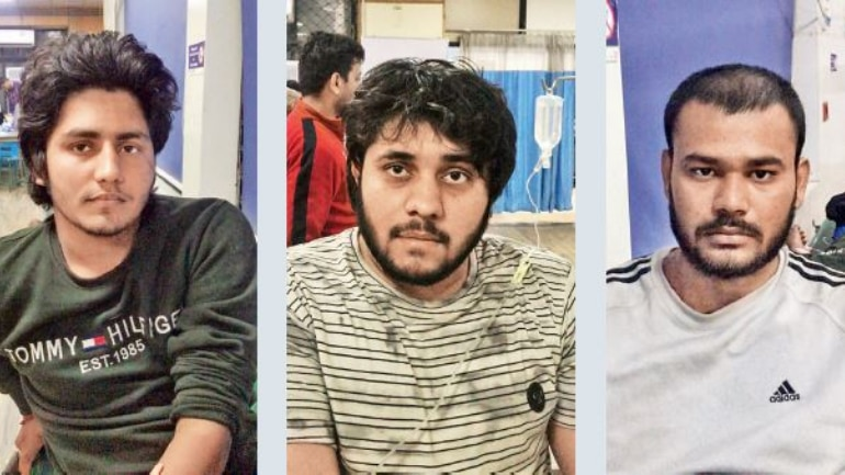 (L-R) The accused identified as 21-year-old Sunil alias Bhoora, 34-year-old Ravinder, 24-year-old Sukhvinder alias Sanju, and two others.