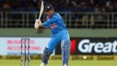 MS Dhoni records second-lowest strike rate by an Indian batsman in T20Is
