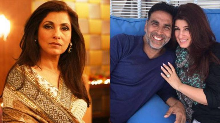 Viral video: Akshay Kumar wanted to take Dimple Kapadia on a date. Wait for the twist - Movies News
