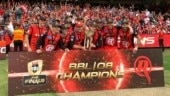Aaron Finch savours 'special win' as Melbourne Renegades lift maiden BBL title