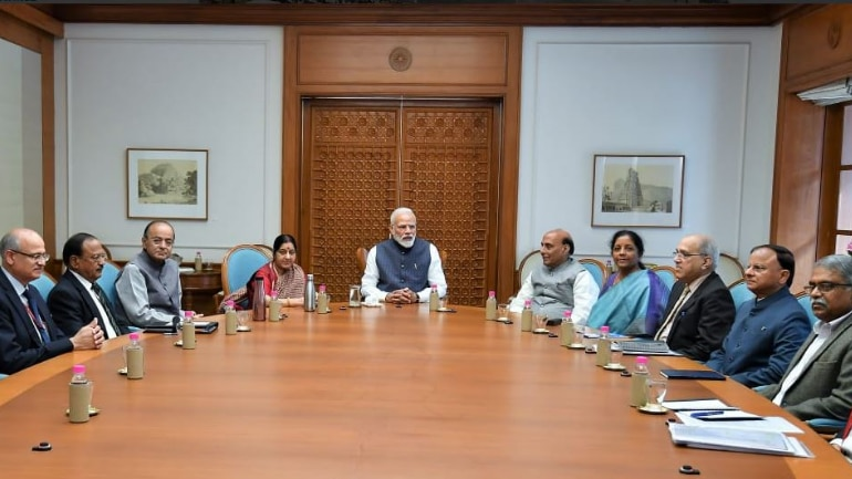 Cabinet Committee on Security, Cabinet Committee on Security meeting, ccs meeting, narendra modi, balakot, mirage 2000, indian air force, IAF, mirage 2000 india, mirage 2000 india, mirage fighter jet, india strikes back, india pakistan, pak terror camps