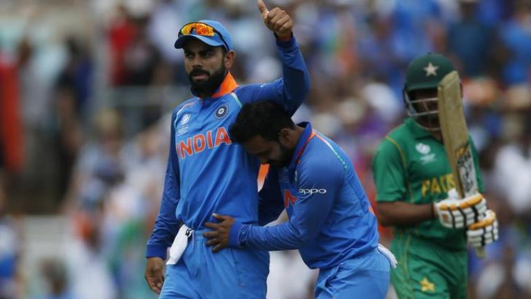 India and Pakistan are scheduled to play in the World Cup on June 16 (Reuters Photo)